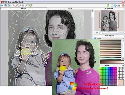 স্ক্রিনশট AKVIS Coloriage Windows 7