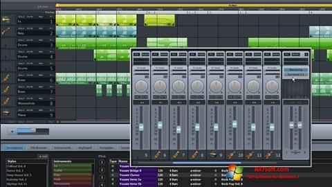 স্ক্রিনশট MAGIX Music Maker Windows 7