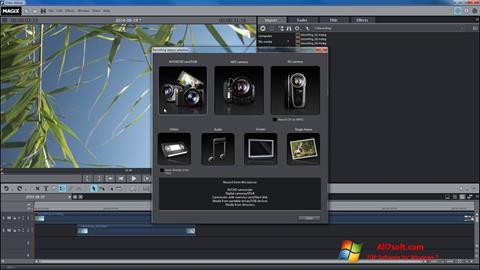 স্ক্রিনশট MAGIX Movie Edit Pro Windows 7