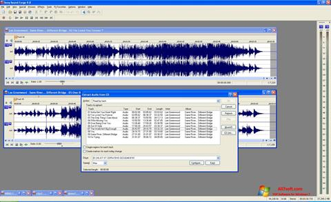 স্ক্রিনশট Sound Forge Windows 7