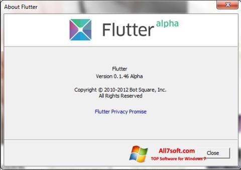 স্ক্রিনশট Flutter Windows 7