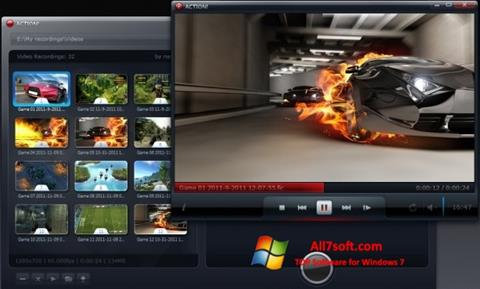 স্ক্রিনশট Action! Windows 7