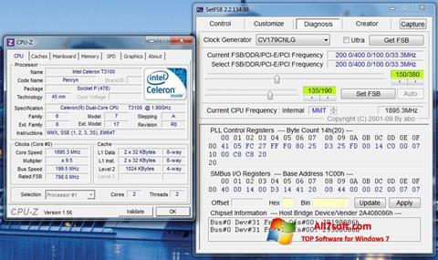 স্ক্রিনশট SetFSB Windows 7