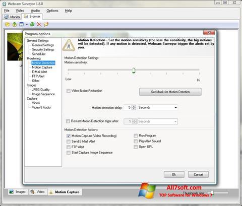 স্ক্রিনশট Webcam Surveyor Windows 7