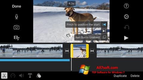 স্ক্রিনশট iMovie Windows 7