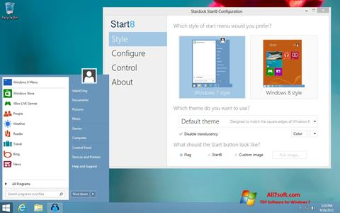 স্ক্রিনশট Start8 Windows 7
