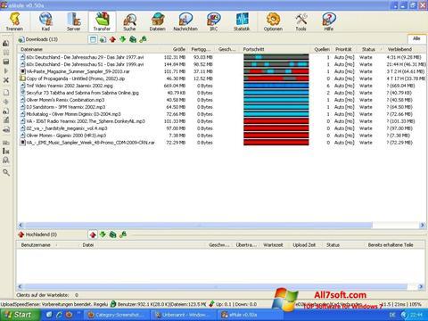 স্ক্রিনশট eMule Windows 7