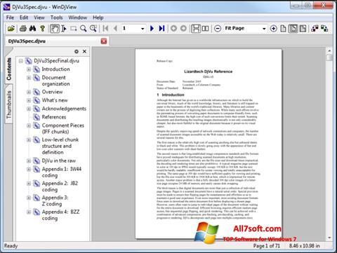 স্ক্রিনশট WinDjView Windows 7
