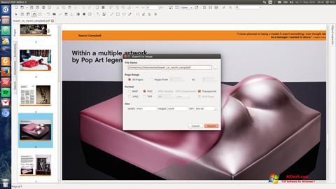 স্ক্রিনশট Master PDF Editor Windows 7
