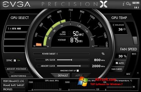 স্ক্রিনশট EVGA Precision X Windows 7
