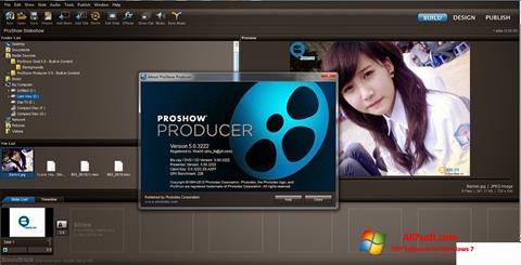 স্ক্রিনশট ProShow Producer Windows 7