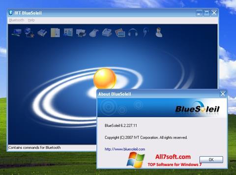 স্ক্রিনশট BlueSoleil Windows 7