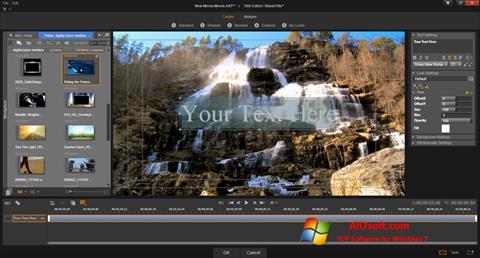 স্ক্রিনশট Pinnacle Studio Windows 7