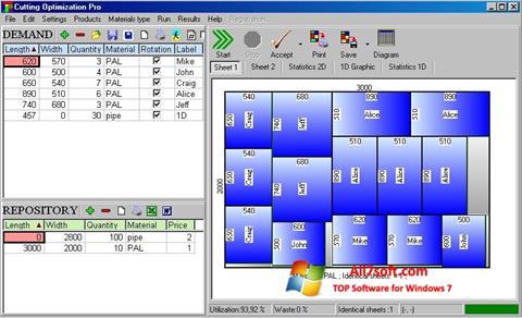স্ক্রিনশট Cutting Windows 7