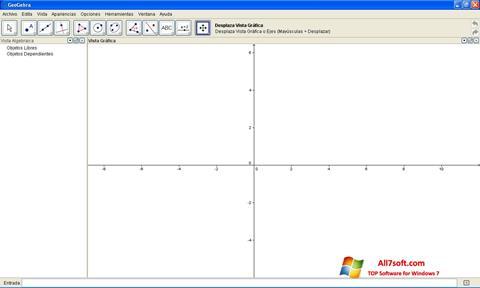 স্ক্রিনশট GeoGebra Windows 7