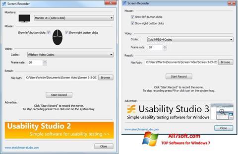 স্ক্রিনশট Rylstim Screen Recorder Windows 7