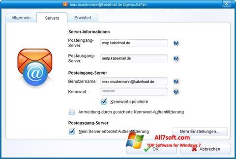 স্ক্রিনশট IncrediMail Windows 7