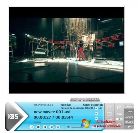 স্ক্রিনশট BSPlayer Windows 7