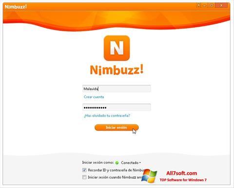 স্ক্রিনশট Nimbuzz Windows 7