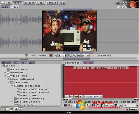 স্ক্রিনশট ZS4 Video Editor Windows 7