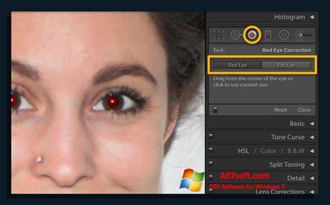 স্ক্রিনশট Red Eye Remover Windows 7