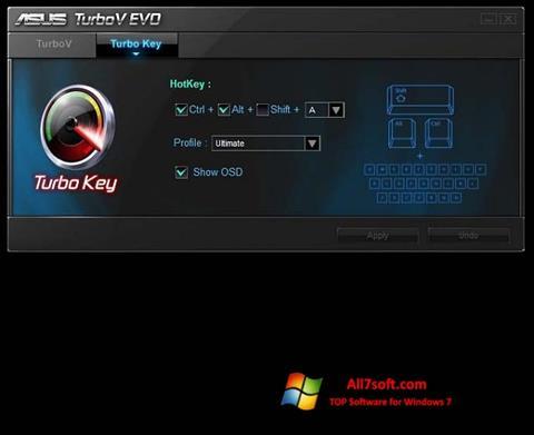 স্ক্রিনশট TurboV EVO Windows 7