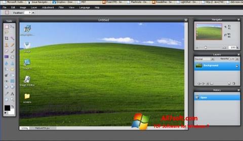 স্ক্রিনশট LightShot Windows 7