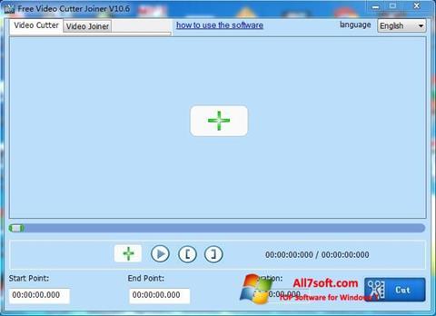 স্ক্রিনশট Free Video Cutter Windows 7