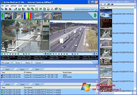 স্ক্রিনশট Active WebCam Windows 7